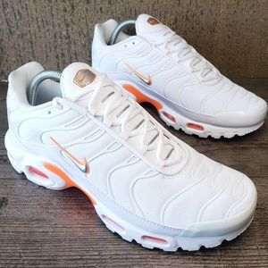 Nike Air Max PLUS TN Tuned SE Men's White /Orange